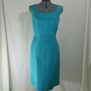 DONNA MORGAN Light Blue Sleeveless Dress Size 12